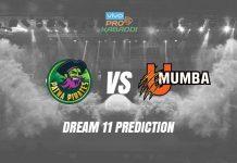 Dream11 PAT vs MUM Pro Kabaddi League 2019 KreedOn