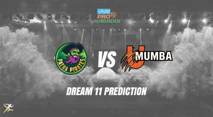 Dream11 PAT vs MUM Pro Kabaddi League 2nd October 2019