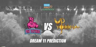 Dream11 JAI vs UP Pro Kabaddi League 2019