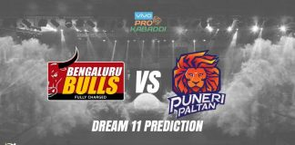 Dream11 BLR vs PUN Pro Kabaddi League 2019