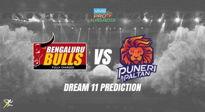 Dream11 BLR vs PUN Pro Kabaddi League 2019