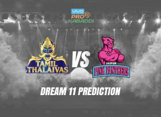 Dream11 JAI vs TAM Pro Kabaddi League 2019