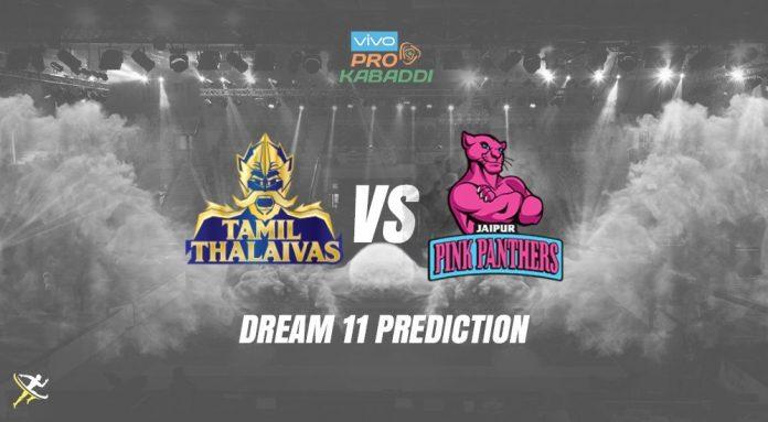 Dream11 TAM vs JAI Pro Kabaddi League 2019