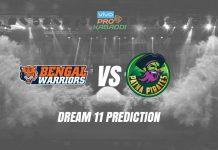 Dream11 BEN vs PAT Pro Kabaddi League 2019