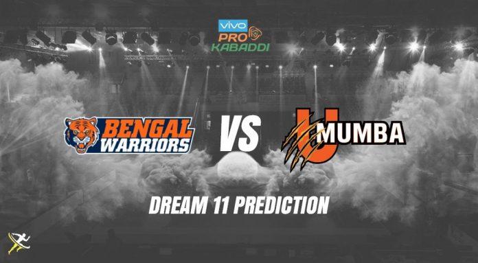Dream11 BEN vs MUM Pro Kabaddi League 2019
