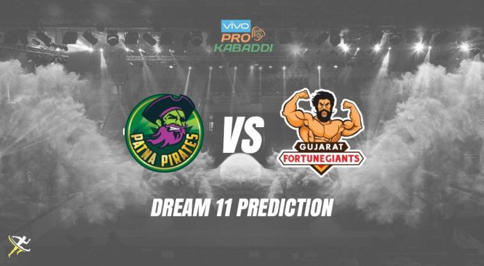 Dream11 PAT vs GUJ Pro Kabaddi League 2019
