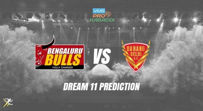 Dream11 BLR vs DEL Pro Kabaddi League 2019