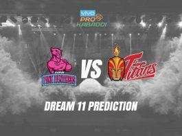 Dream11 JAI vs HYD Pro Kabaddi League 2019