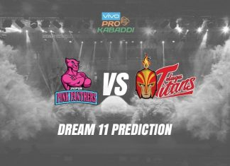 Jaipur Pink Panthers vs Telugu Titans PKL 2019 KreedOn