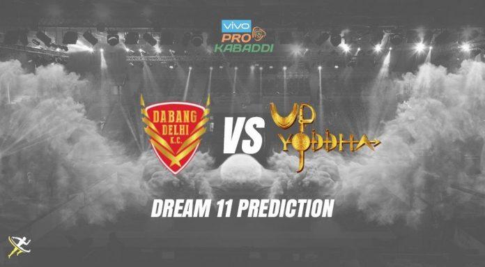 UP Yoddha vs Dabang Delhi
