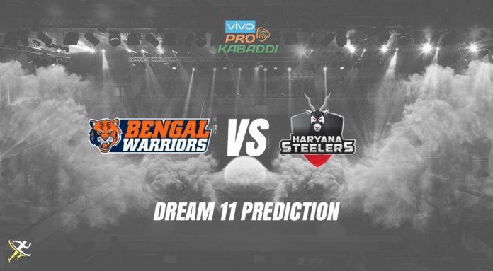 Dream11 BEN vs HAR Pro Kabaddi League 2019 KreedOn