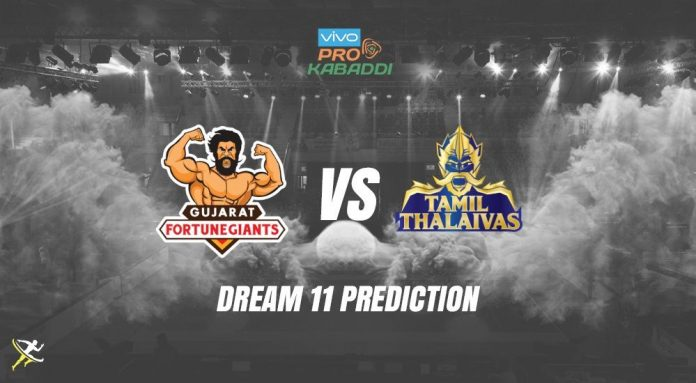 Dream11 GUJ vs TAM Pro Kabaddi League 2019