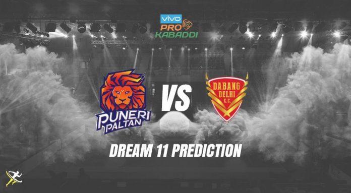 Dream11 DEL vs PUN Pro Kabaddi League 2019