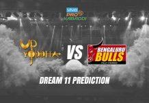 Dream11 BLR vs UP Eliminator 1