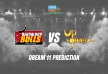 Bengaluru Bulls vs UP Yoddha Dream11 Prediction
