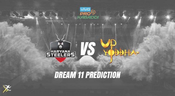 Dream11 UP vs HAR Pro Kabaddi League 2019