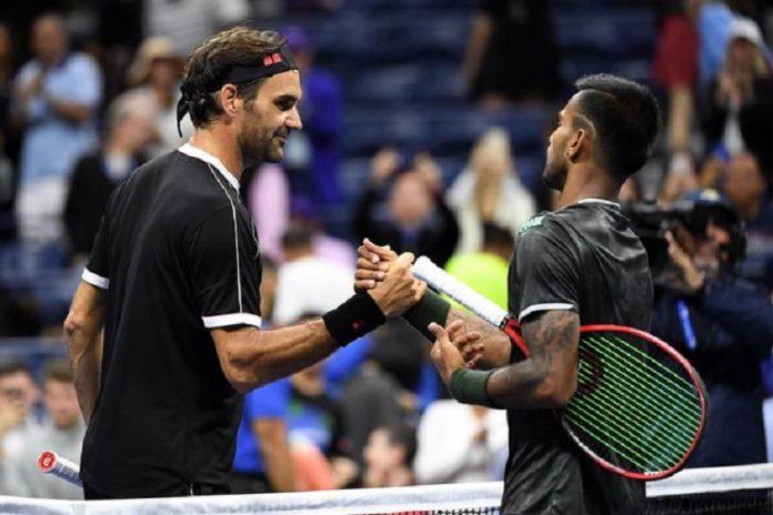 Sumit Nagal Roger Federer KreedOn