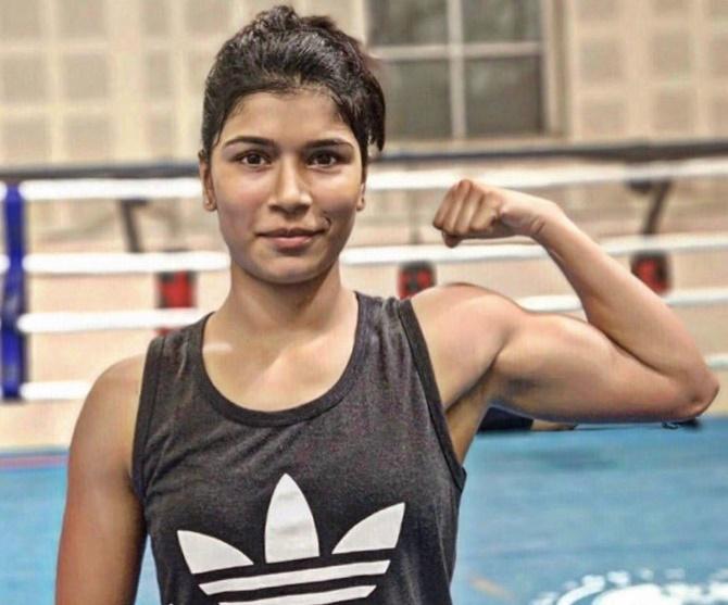 Nikhat Zareen KreedOn