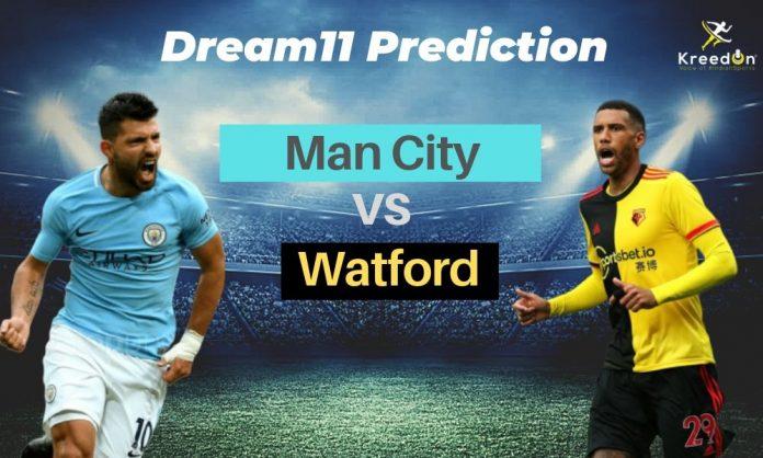 MCI vs WAT EPL Dream11 Prediction 2019