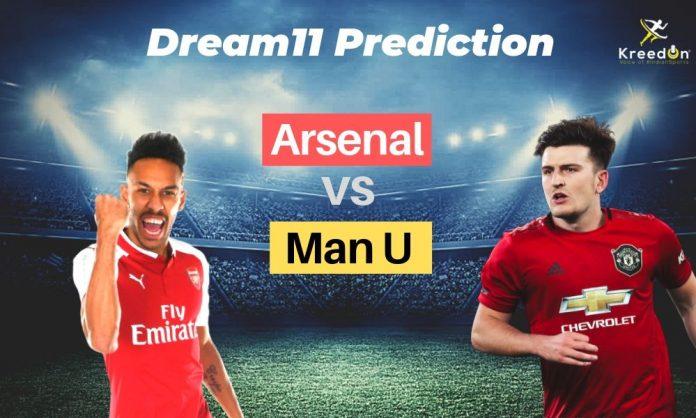 ARS vs MUN EPL Dream 11 Prediction 2019