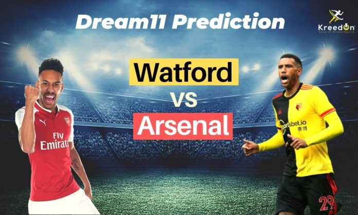 ARS vs WAT EPL Dream11 Prediction 2019