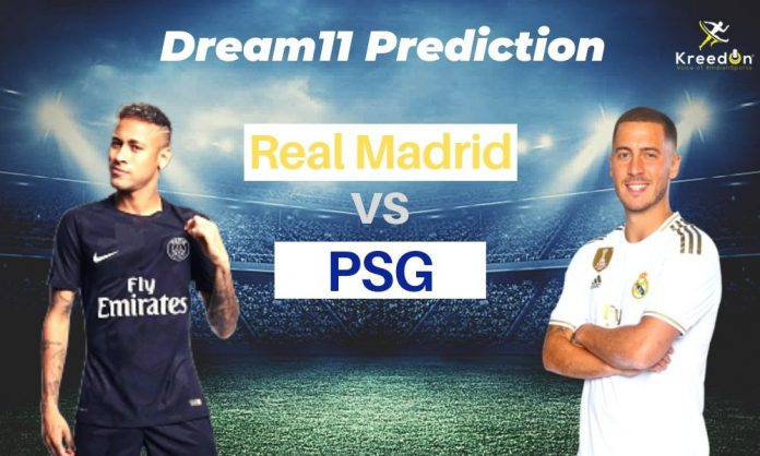 RM vs PSG Champions League Dream11 Prediction 2019