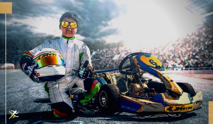 Arafath Sheikh motor racing KreedOn