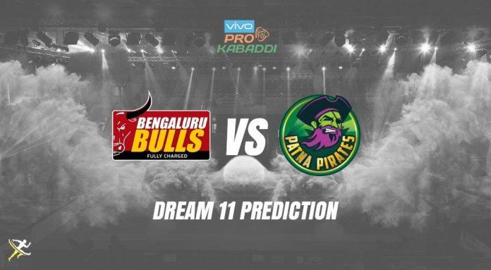 Dream11 BLR vs PAT Pro Kabaddi League 2019