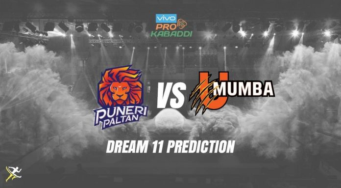 Dream11 PUN vs MUM Pro Kabaddi League 2019