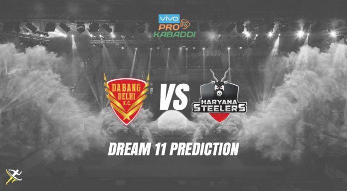 Dream11 DEL vs HAR Pro Kabaddi League 2019