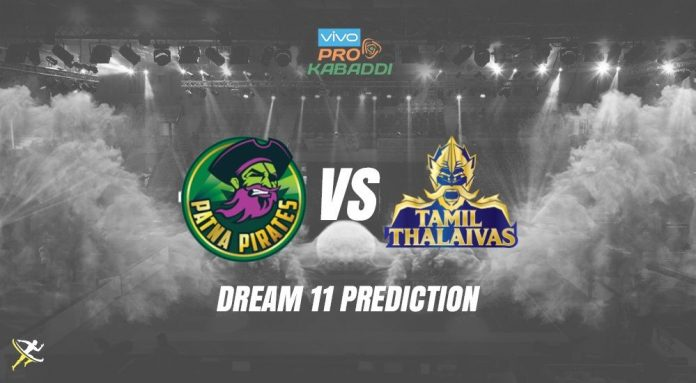Dream11 PAT vs TAM Pro Kabaddi League 2019