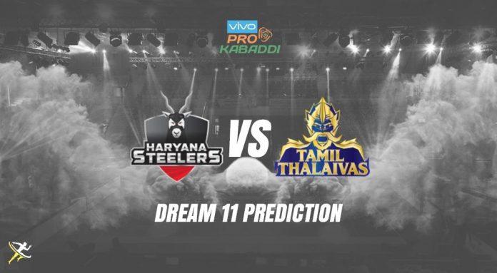 Dream11 TAM vs HAR Pro Kabaddi League 2019