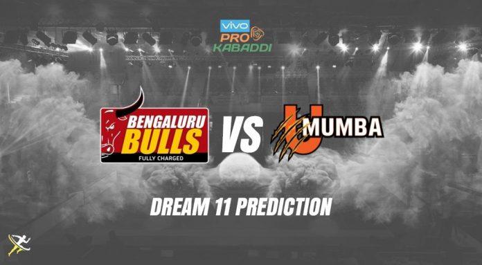 Dream11 BLR vs MUM Pro Kabaddi League 2019