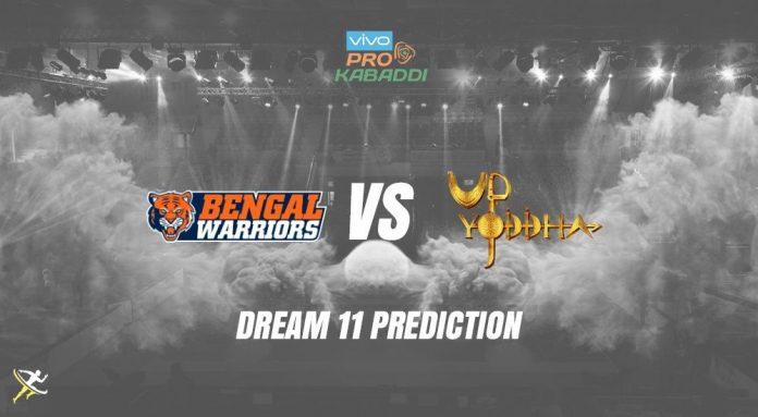 Dream11 BEN vs UP Pro Kabaddi League 2019