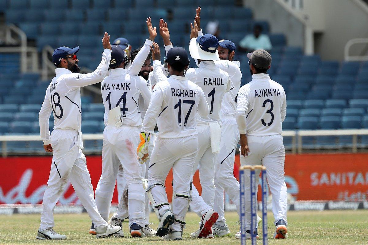 Indian test team KreedOn