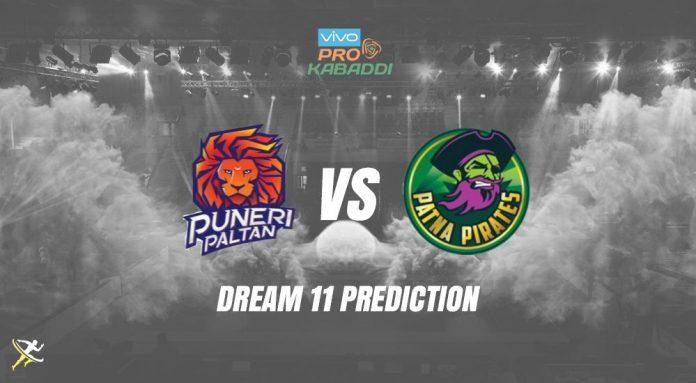 Dream11 PUN vs PAT Pro Kabaddi League 2019