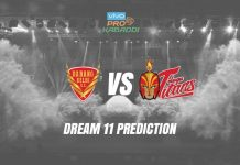 Dream11 DEL vs HYD Pro Kabaddi League 2019