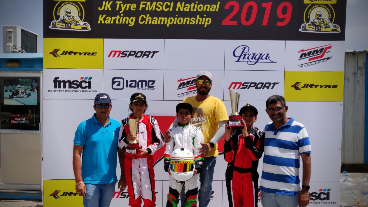 Arafat Sheikh motor racing KreedOn