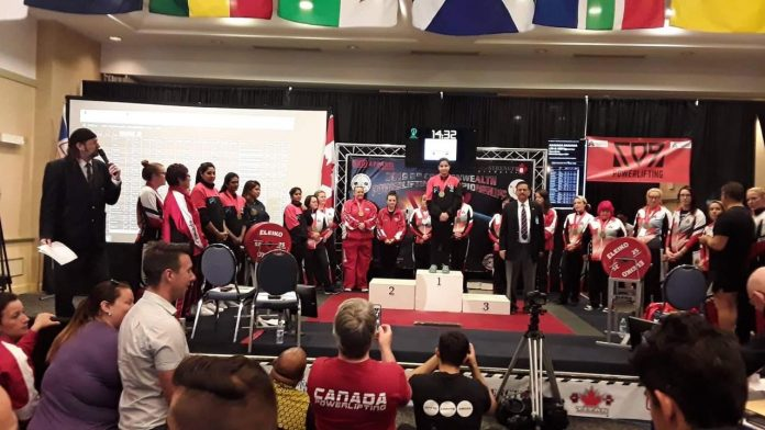 Commonwealth Powerlifting Championships KreedOn