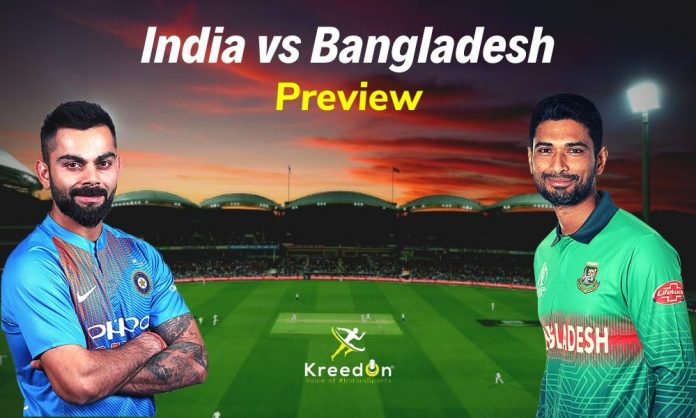 India vs Bangladesh 2019 KreedOn