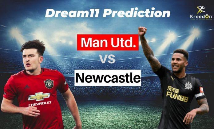 MUN vs NEW EPL Dream11 Prediction 2019