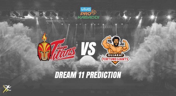 Dream11 HYD vs GUJ Pro Kabaddi League 2019