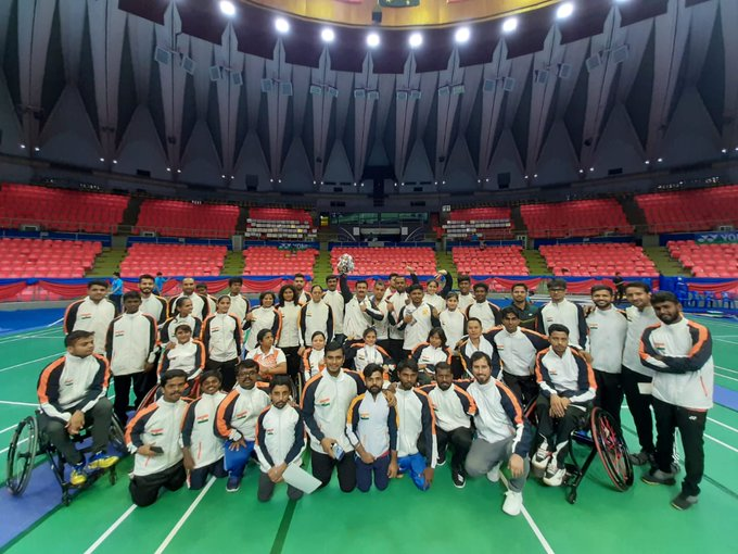 para-badminton KreedOn