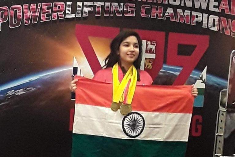Rishita Jain Powerlifting KreedOn