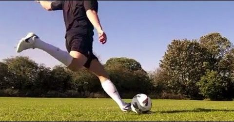 How to kick a football Run up KreedOn