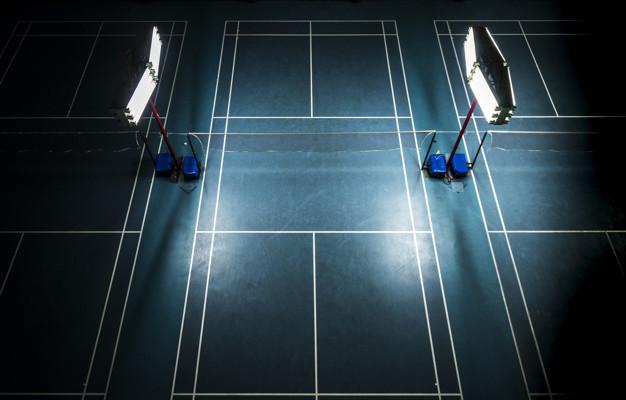 Badminton court flooring KreedOn