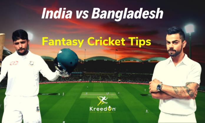 IND vs BAN 1st Test Dream11 Prediction