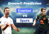 EVE vs TOT EPL Dream11 Prediction