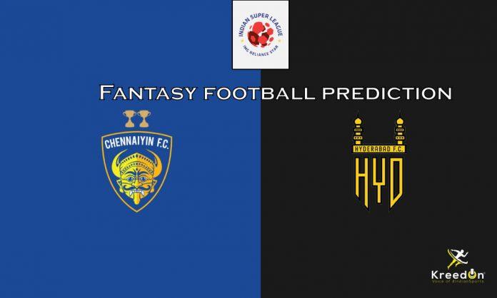 Chenniyin FC vs Hyderabad FC KreedOn