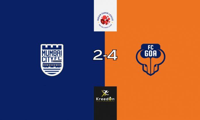 FC Goa vs Mumbai KreedOn